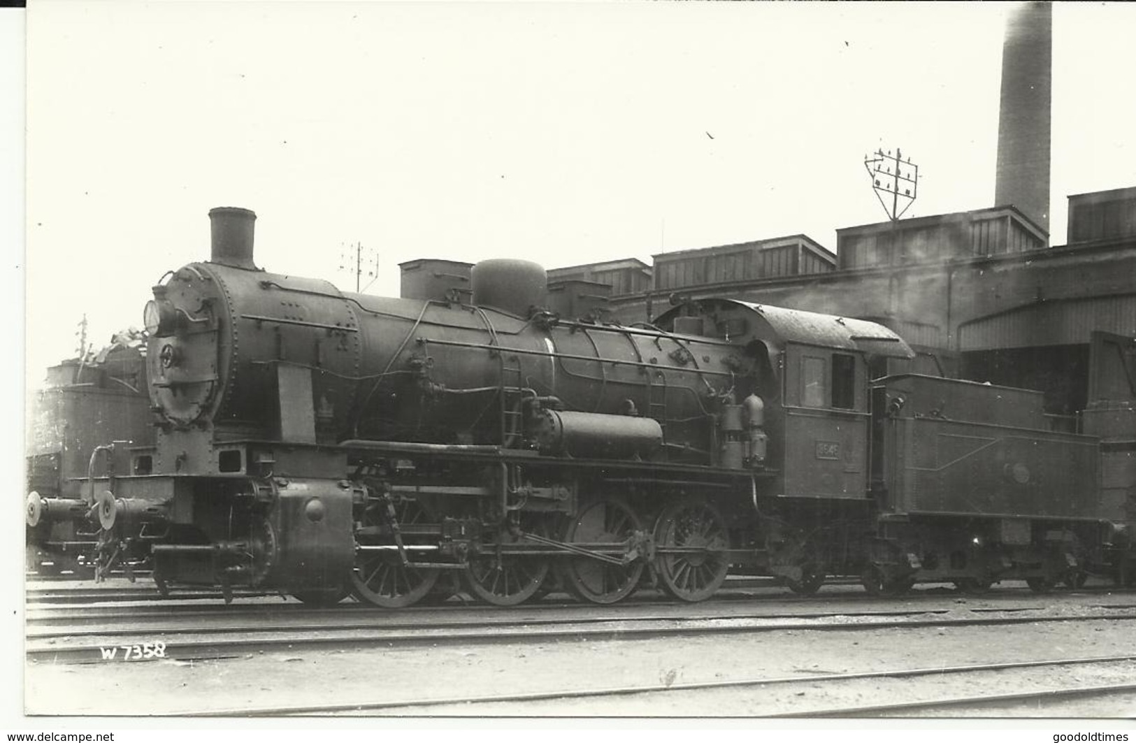 Stoomtrein Type 81  Real Photographs Co.ltd 69 Stanley Road Broadstairs Kent  (2101) - Trenes