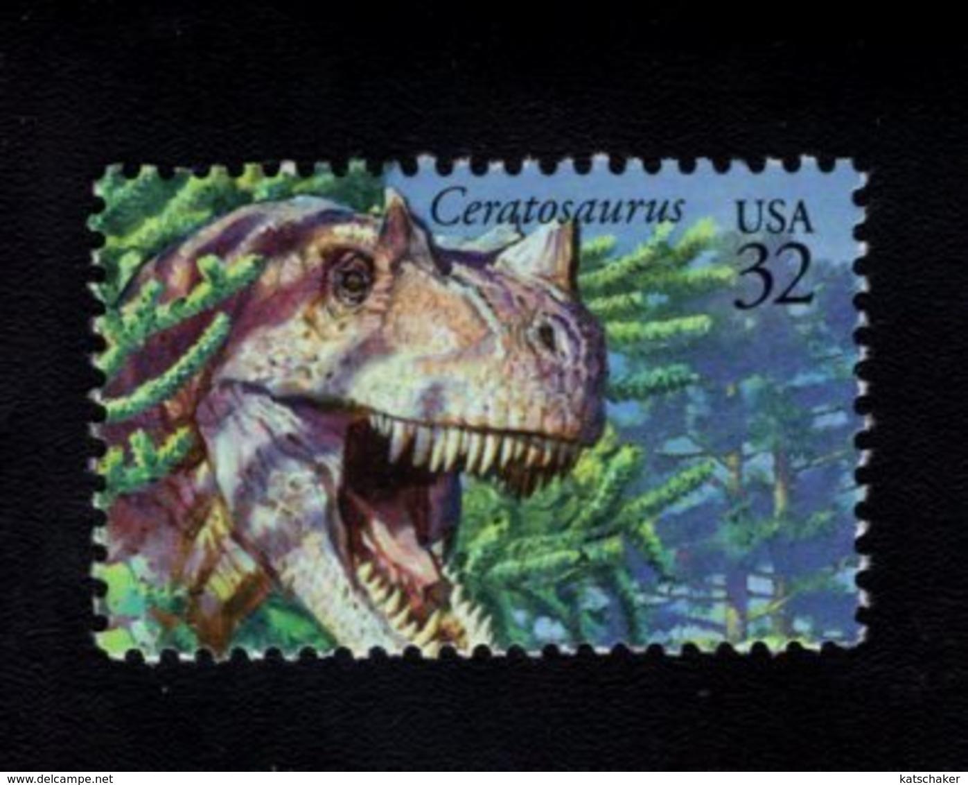 850413241 1997 SCOTT 3136A POSTFRIS MINT NEVER HINGED EINWANDFREI (XX) DINOSAURS - Unused Stamps