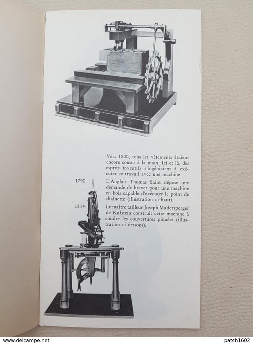 150 ANS DE MACHINE A COUDRE - Old Paper
