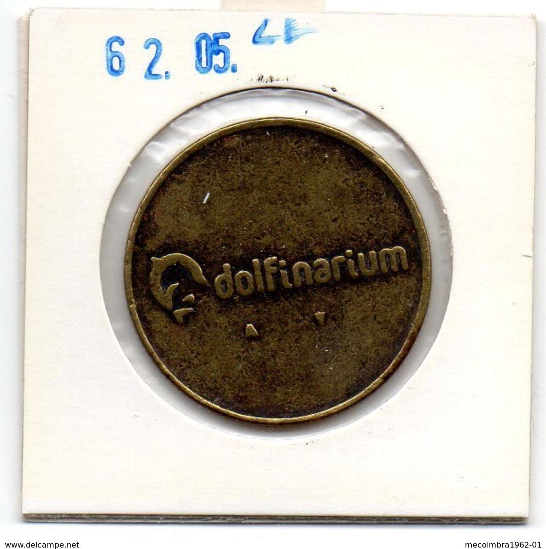 PAYS-BAS* MEDAILLE JETON ZEEHOND DOLFINARIUM - Nederland