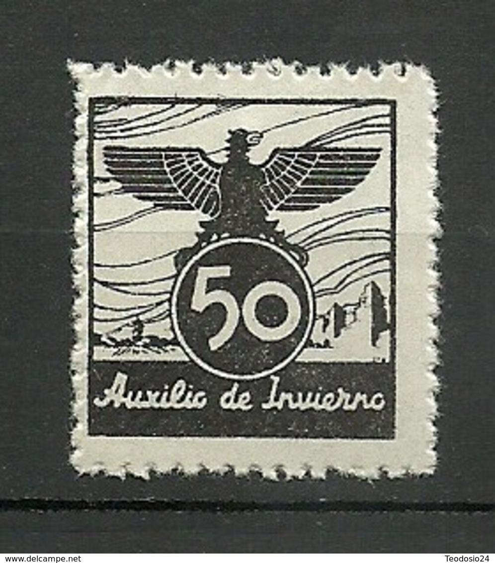 AUXILIO DE INVIERNO ESPAÑA ** - Verschlussmarken Bürgerkrieg