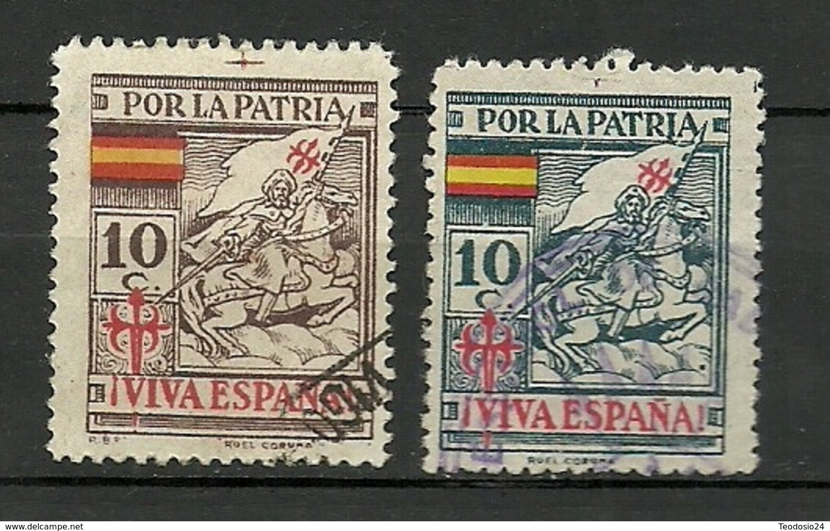 SANTIAGO APOSTOL POR LA PATRIA - Viñetas De La Guerra Civil