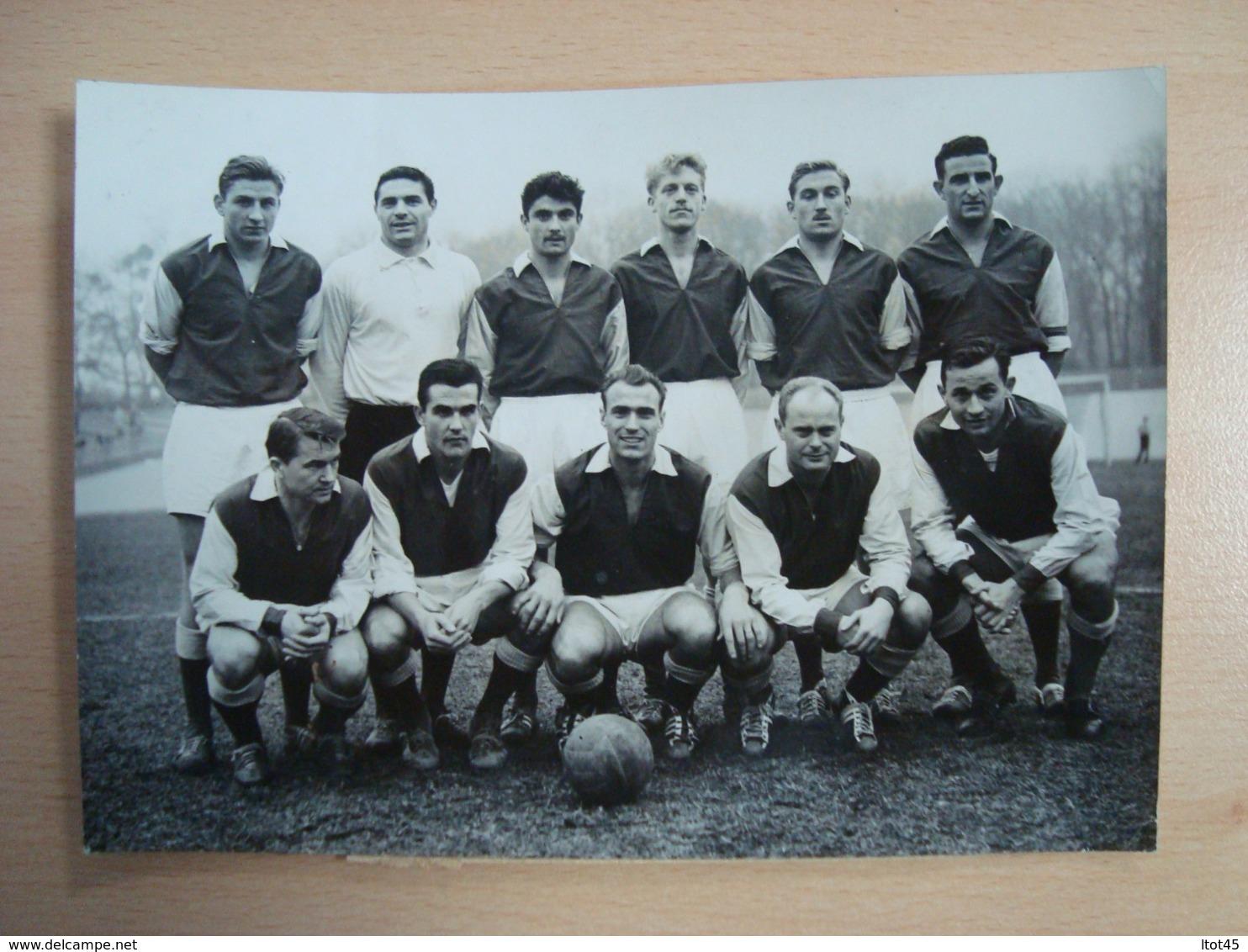PHOTO DE PRESSE FOOTBALL RED-STAR TROYES PARC DES PRINCES 1960 - Sporten