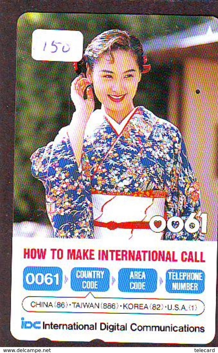 Télécarte Japon (150) CHINA Related * Phonecard Japan * - Chine