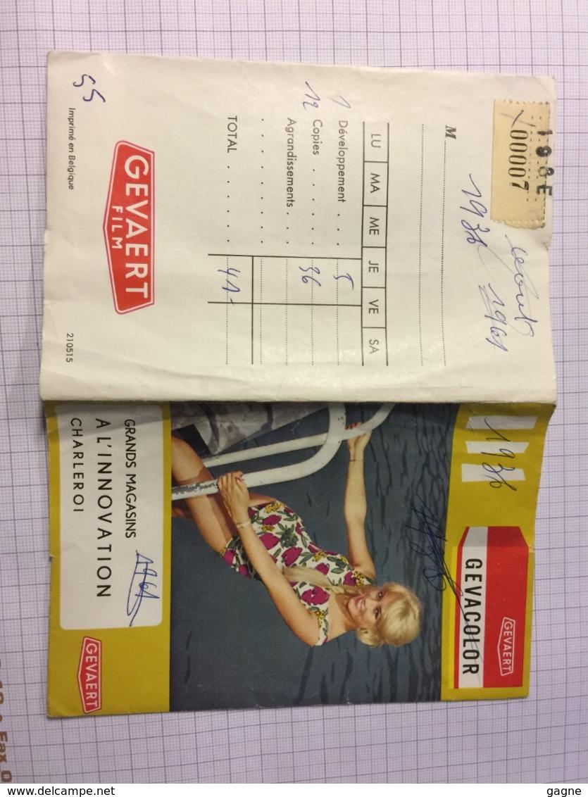 19P - Pochette Gevaert Pin Up Innovation Charleroi - Photographie