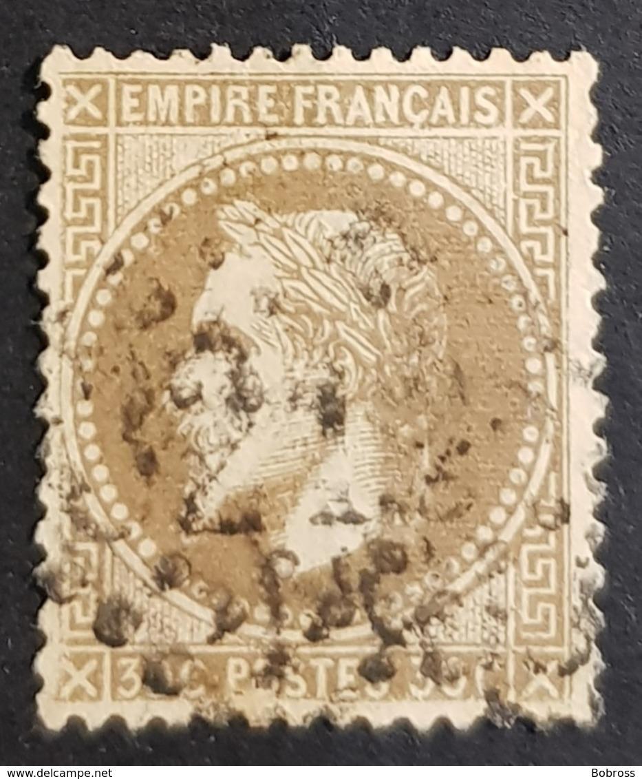 1863-1870, Emperor Napoléon Lll, 30c, Empire Français, France - 1863-1870 Napoléon III. Laure