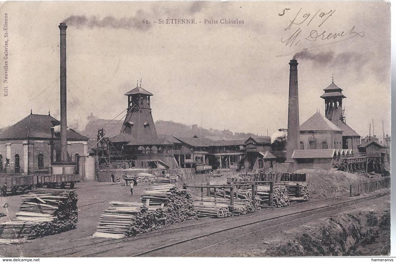 Saint Etienne - Puits Chatelus - HP1861 - Saint Etienne