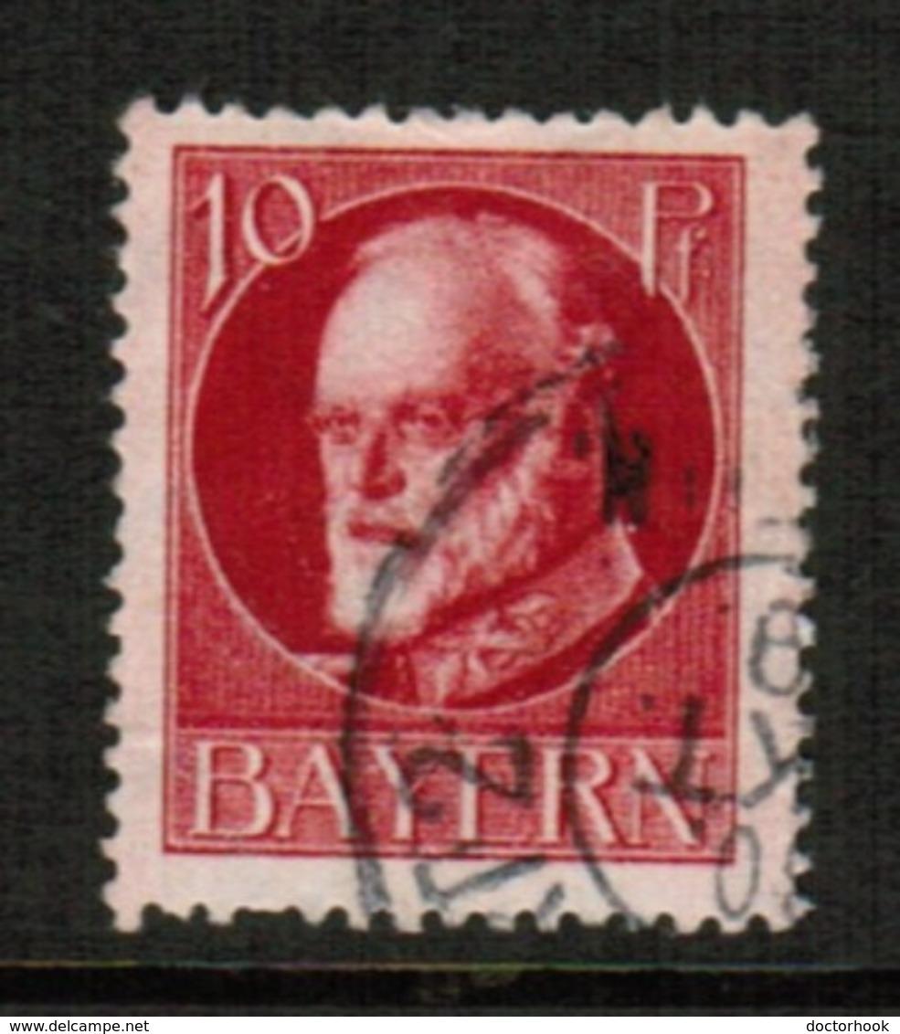 BAVARIA  Scott # 99 VF USED (Stamp Scan # 541) - Bavaria