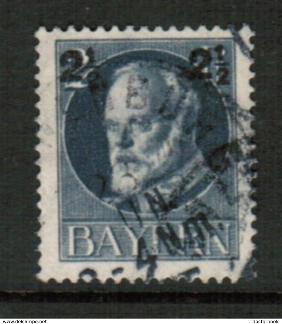 BAVARIA  Scott # 115 VF USED (Stamp Scan # 541) - Bavaria