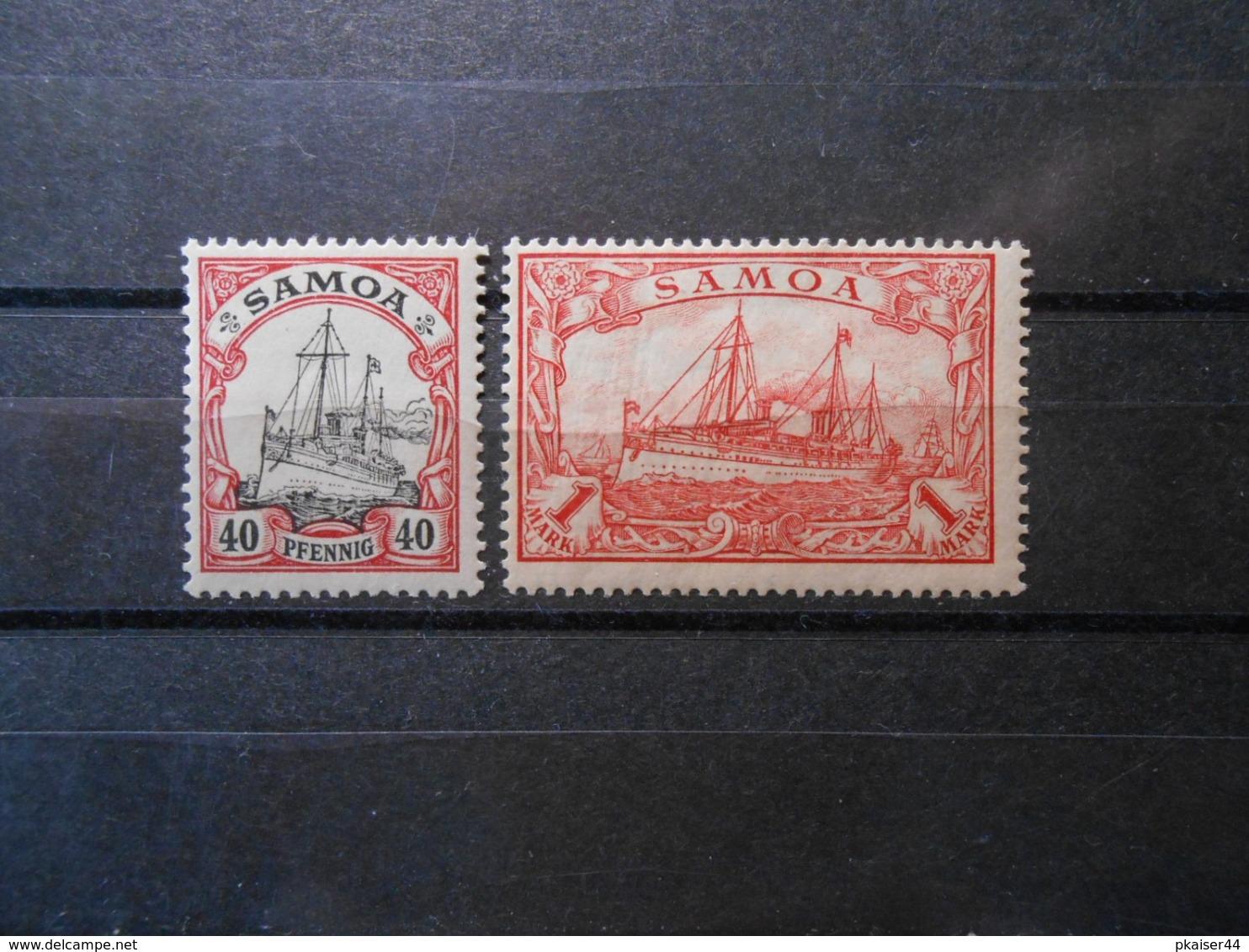 D.R.13**MNH/ 16*MLH - Deutsche Kolonien (Samoa)  1900   Mi 8,00 € - Colony: Samoa