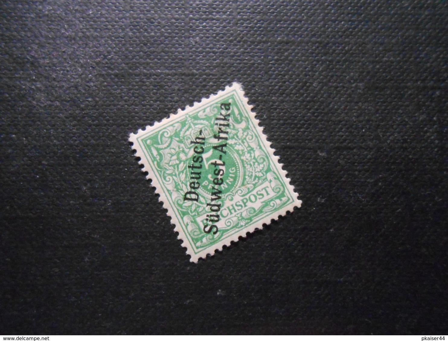 D.R.4  5Pf*MLH   Deutsche Kolonien (Deutsch-Südwestafrika) 1897 - Mi 5,50 € - Colony: German South West Africa