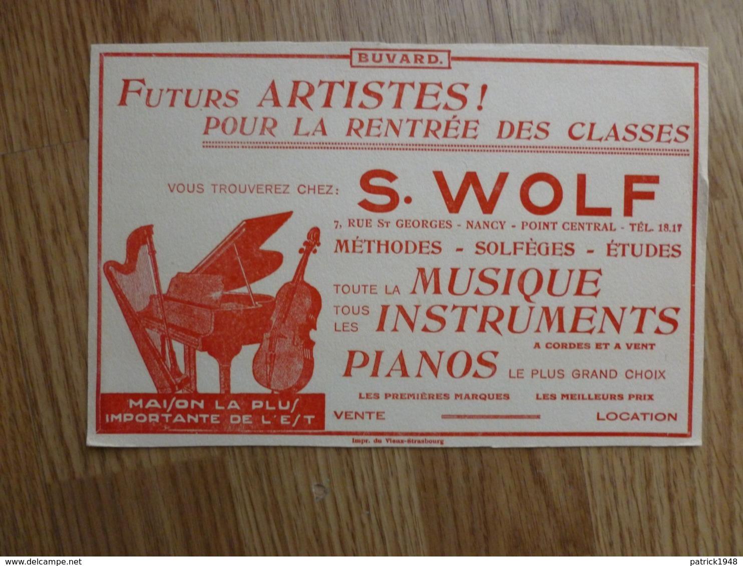 BUVARD    S.WOLF - Carte Assorbenti