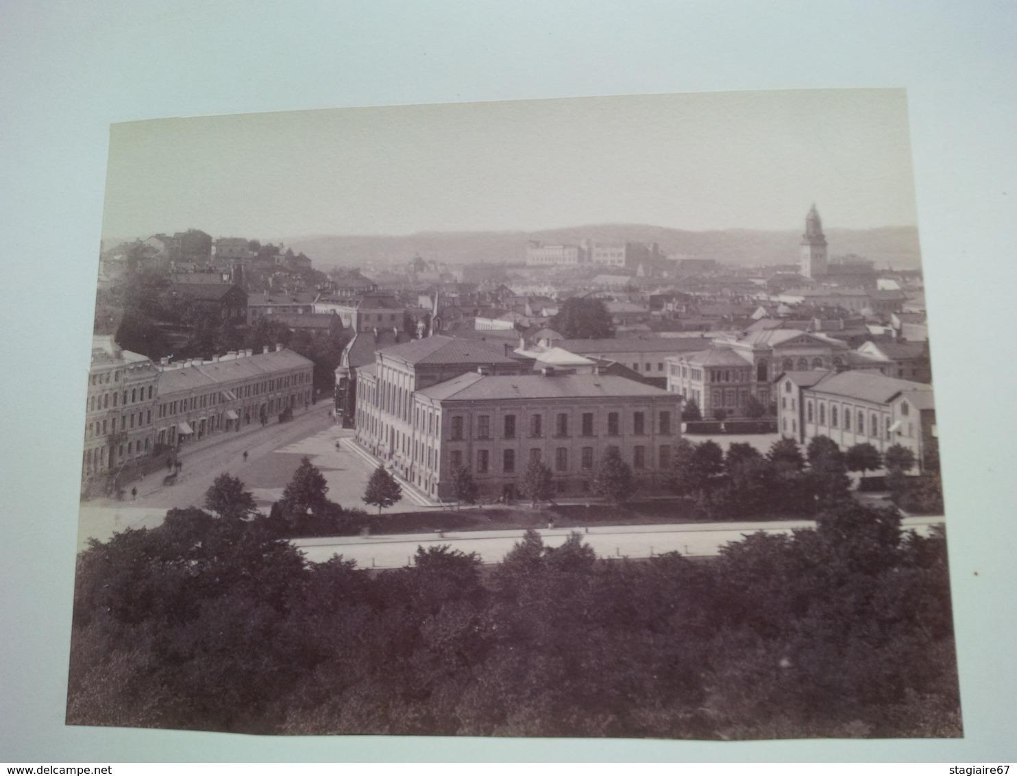 MAGNIFIQUE ALBUM PHOTO VOYAGE EN SCANDINAVIE 1898 TRES BELLES PHOTOGRAPHIES - Albums & Collections