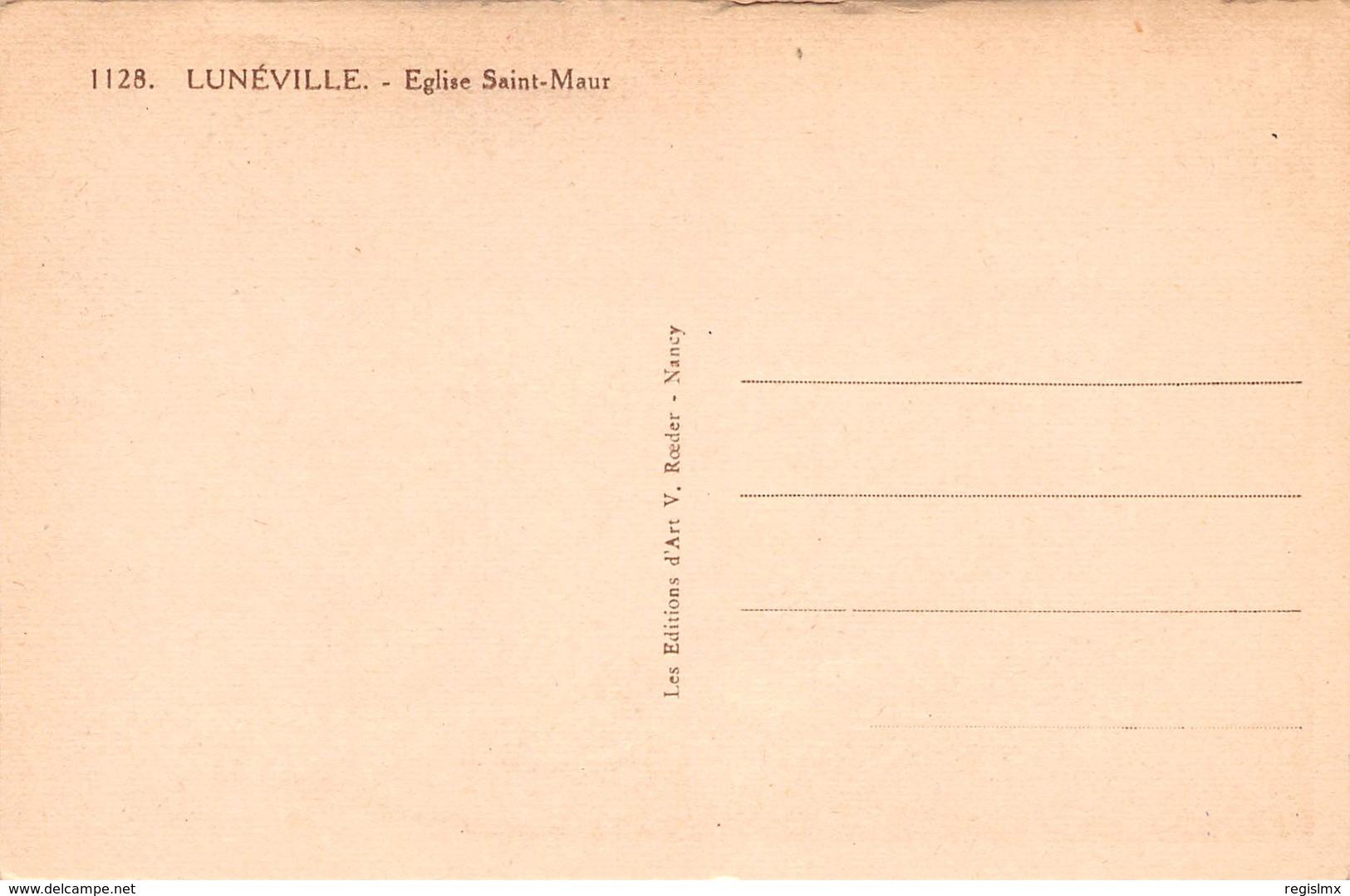 54-LUNEVILLE-N°T1169-G/0325 - Luneville