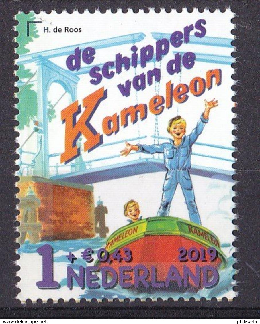 Nederland - 3 Oktober 2019 - Kinderpostzegels - H. De Roos: De Schippers Van De Kameleon - MNH/posrfris - Fairy Tales, Popular Stories & Legends