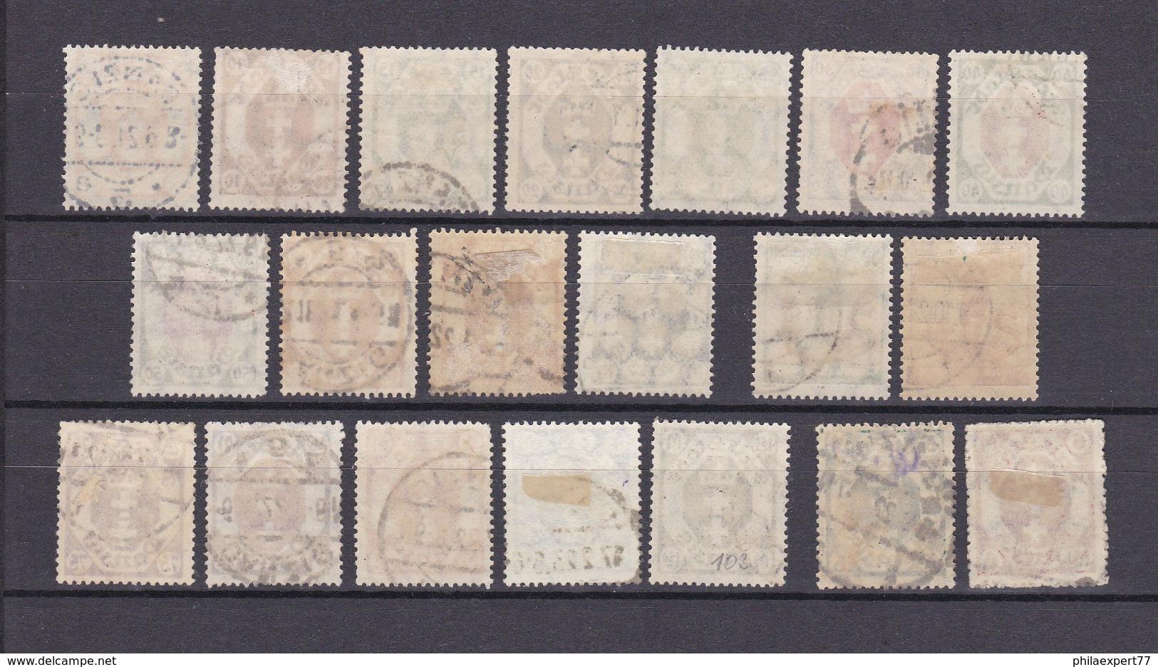 Danzig - 1921/22 - Sammlung - Gest. - 322 Euro - Danzig