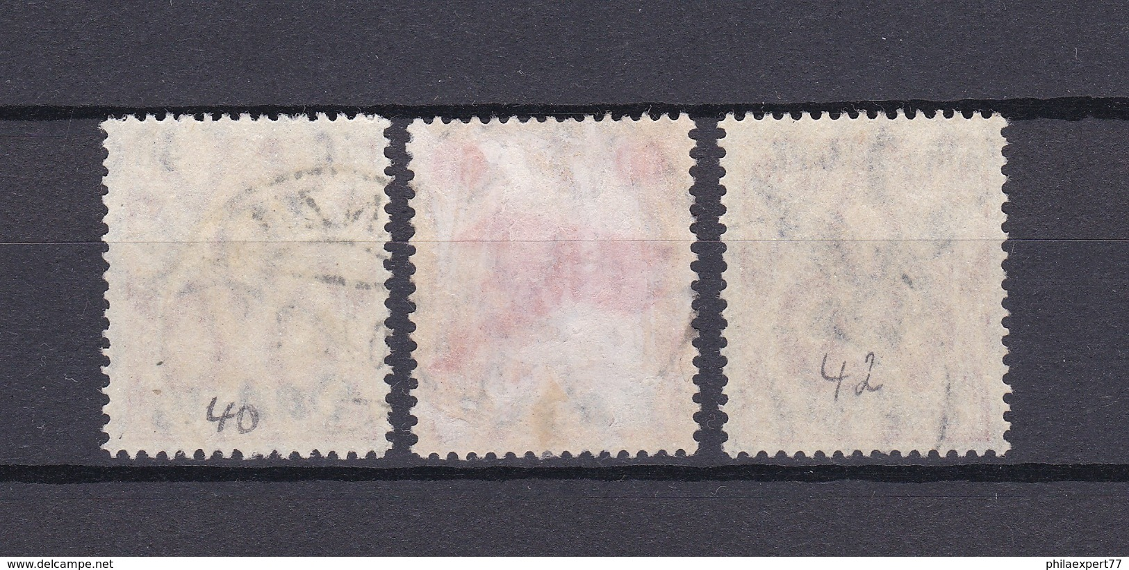 Danzig - 1920 - Michel Nr. 50/52 - Gest. - 45 Euro - Danzig