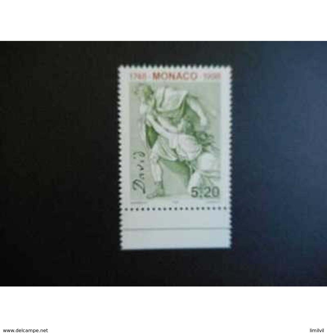 Timbre N° 2144 Neuf ** - 250é Anniversaire Naissance Du Peintre J.L. David - Monaco