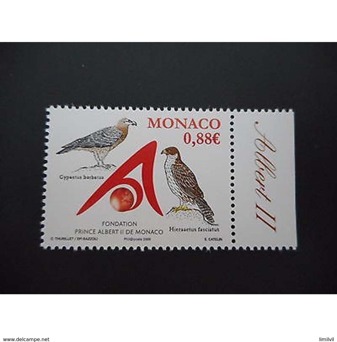 Timbre N° 2634 Neuf ** - Fondation Albert II De Monaco - Monaco