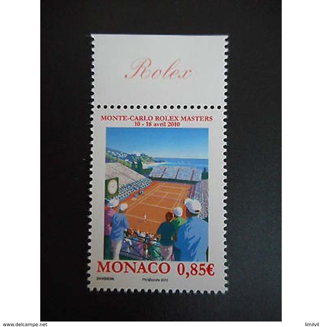 Timbre N° 2723 Neuf ** - Tournoi De Tennis Monte Carlo Rolex Masters - Monaco