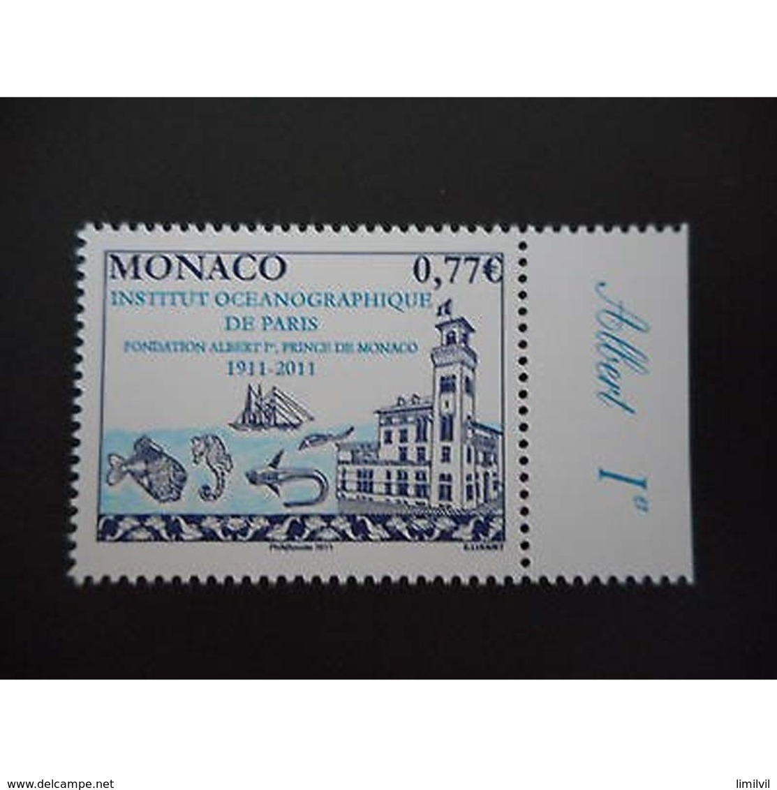 Timbre N° 2796 Neuf ** - Centenaire De L'institut Océanographique De Paris - Monaco