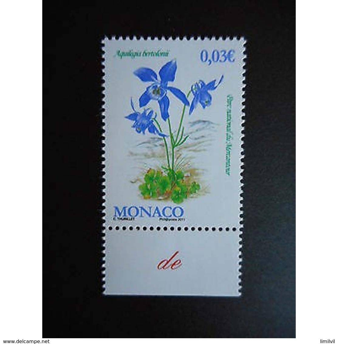 Timbre N° 2780 Neuf ** - Flore Du Parc National Du Mercantour - Ungebraucht