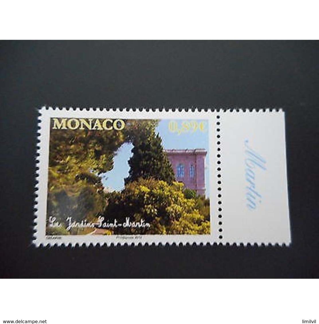 Timbre N° 2809 Neuf ** - Les Jardins De Saint Martin - Monaco