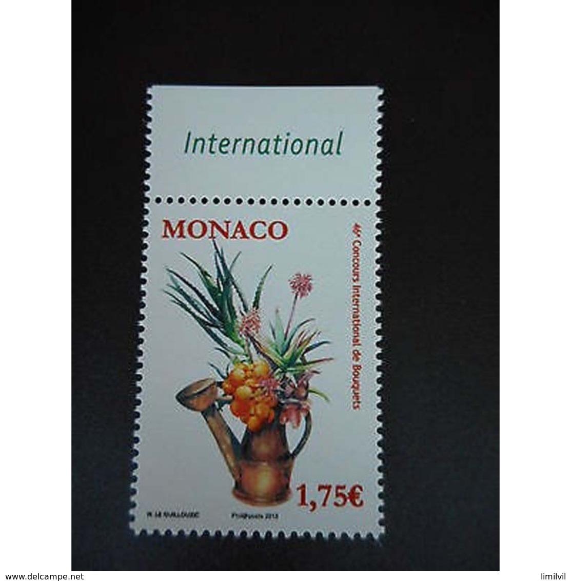 Timbre N° 2861 Neuf ** - 46é Concours International De Bouquets - Monaco