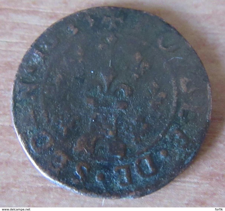 France - Principauté De Sedan - Double Tournois Frédéric-Maurice De La Tour 1635 - 476-1789 Monnaies Seigneuriales
