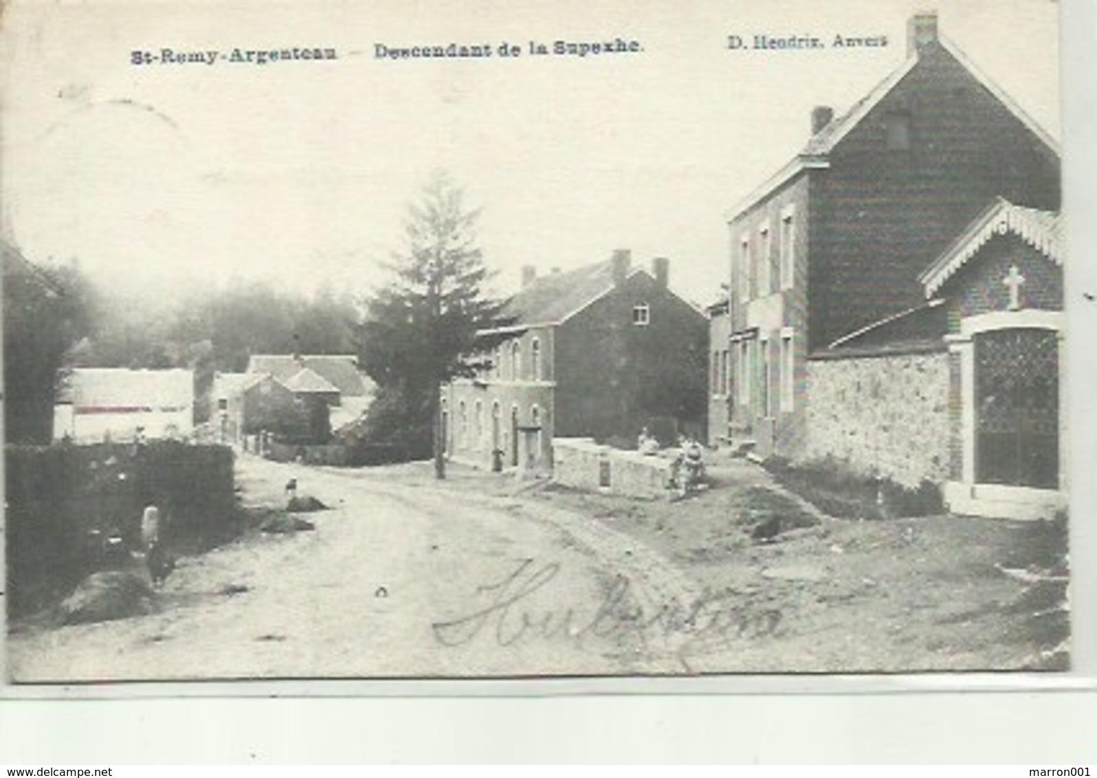 St-Remy- Argenteau -  Descendant De La Superxhe - Verzonden 190? - Beyne-Heusay
