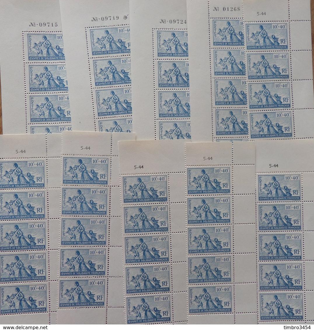 France Colonies Générales YT N° 66 X 75 Timbres Neufs ** MNH. TB. A Saisir! - France (ex-colonies & Protectorats)