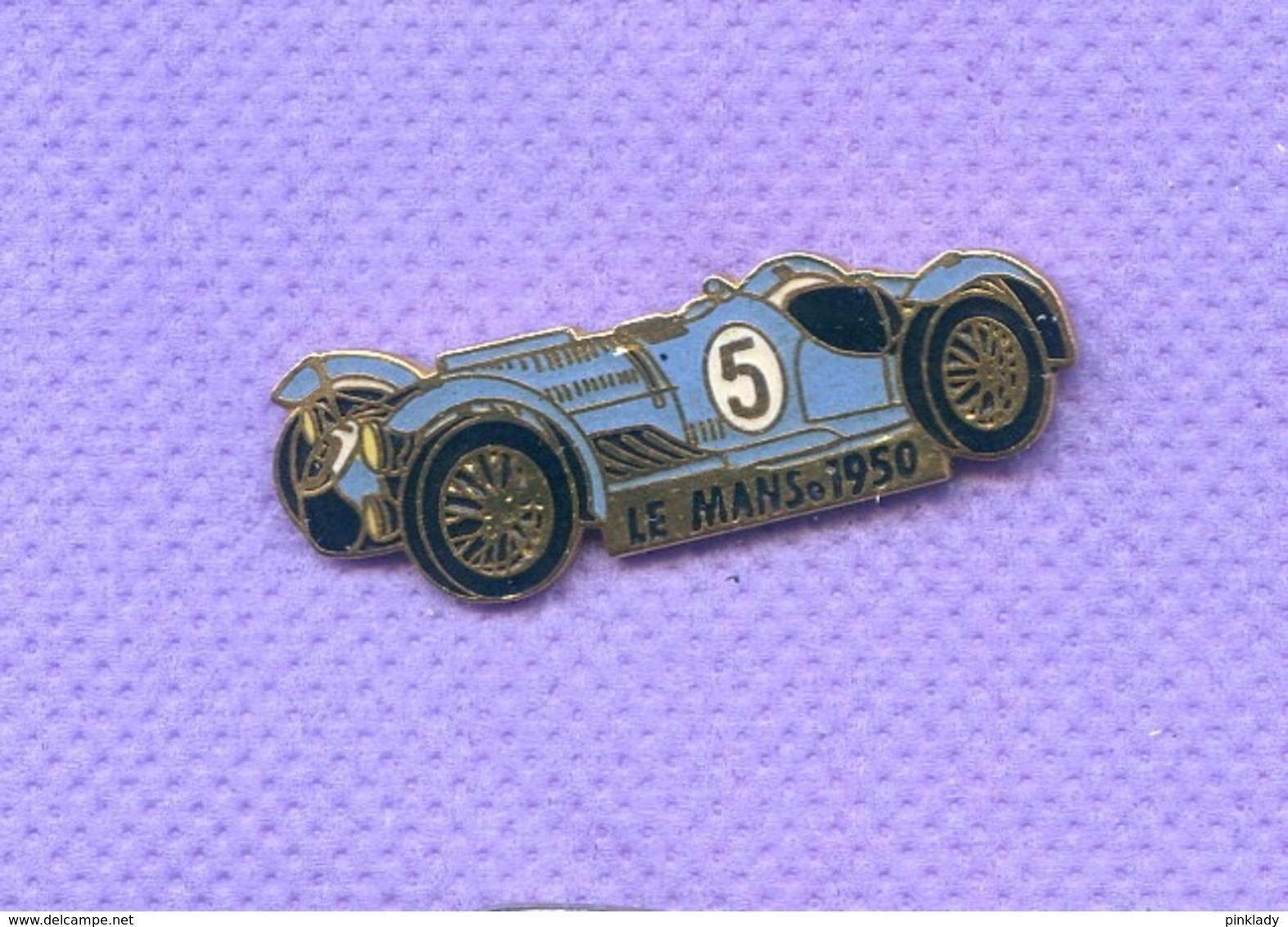 Rare Pins 24 Heures Du Mans 1950 Auto Talbot Lago Egf K238 - Automobile - F1