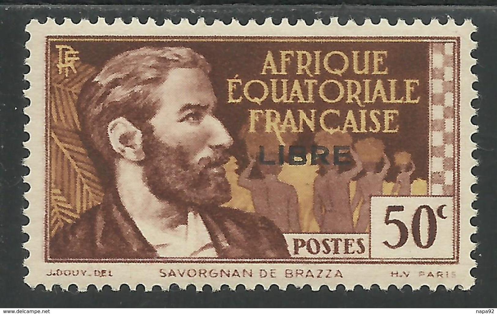 AFRIQUE EQUATORIALE FRANCAISE - AEF - A.E.F. - 1941 - YT 107** - Neufs