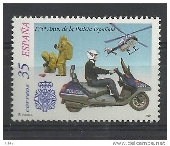 175 AÑOS DE LA POLICIA HELICOPTERO MOTO - Police - Gendarmerie
