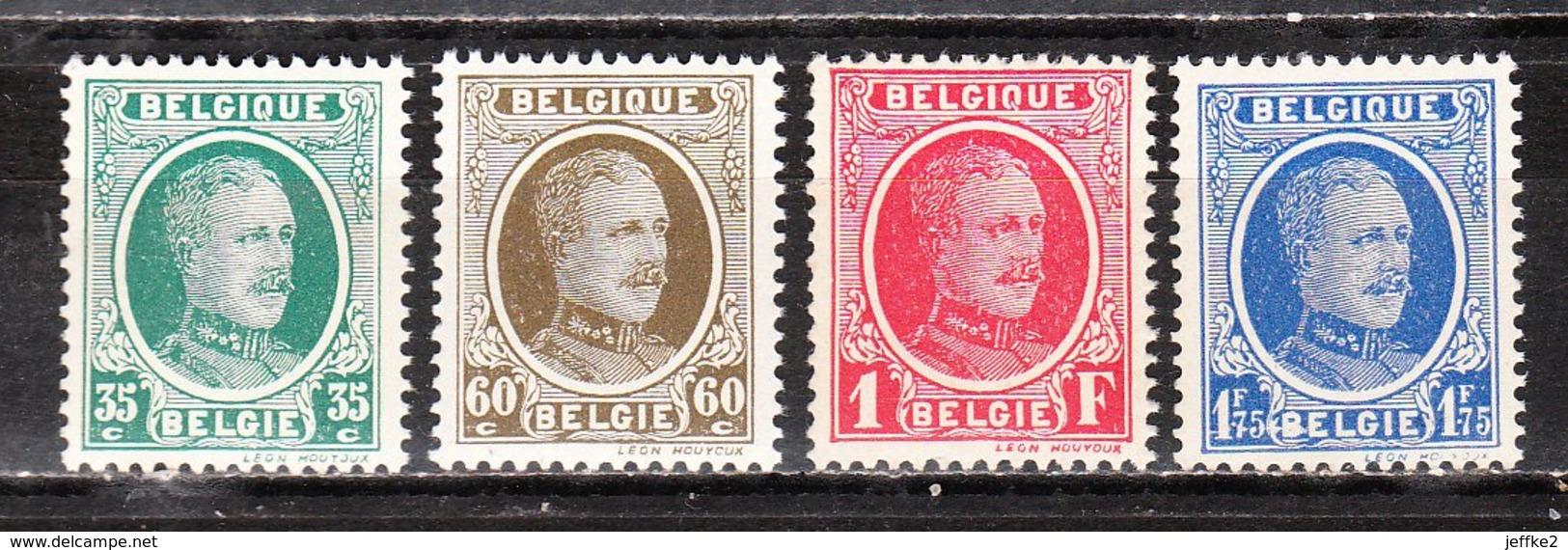 254/57**  Houyoux - Série Complète - MNH** - COB 30 - Vendu à 13% Du COB!!!! - 1922-1927 Houyoux