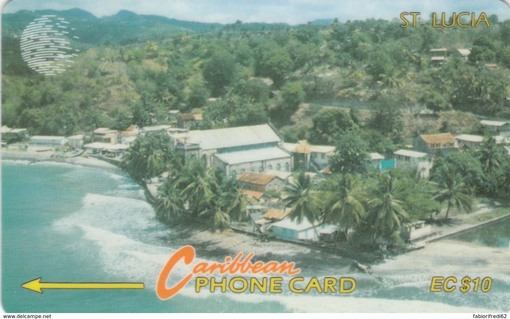 PHONE CARD ST LUCIA (E52.3.6 - Santa Lucía