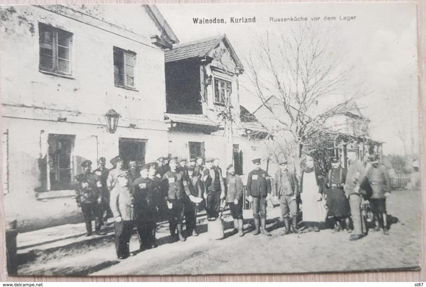Feldpost 1917 Wainoden Kurland Russenküche - Deutschland