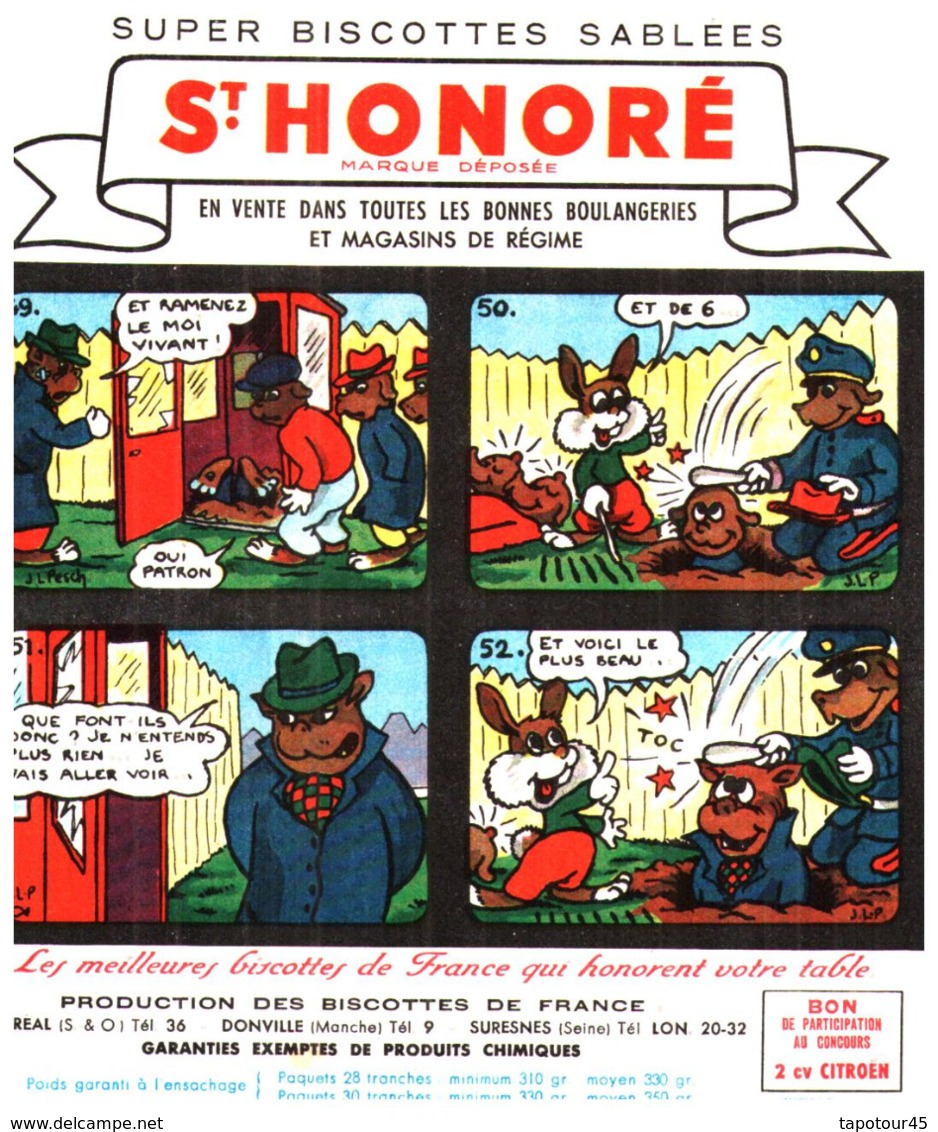 """B St H/Lot De 19 Buvards Biscottes """"ST Honoré Les Aventures De Pinpin"""" (manque Le 44/48) QQ Taches Et Le 9/12 Froissé - Biscottes"""