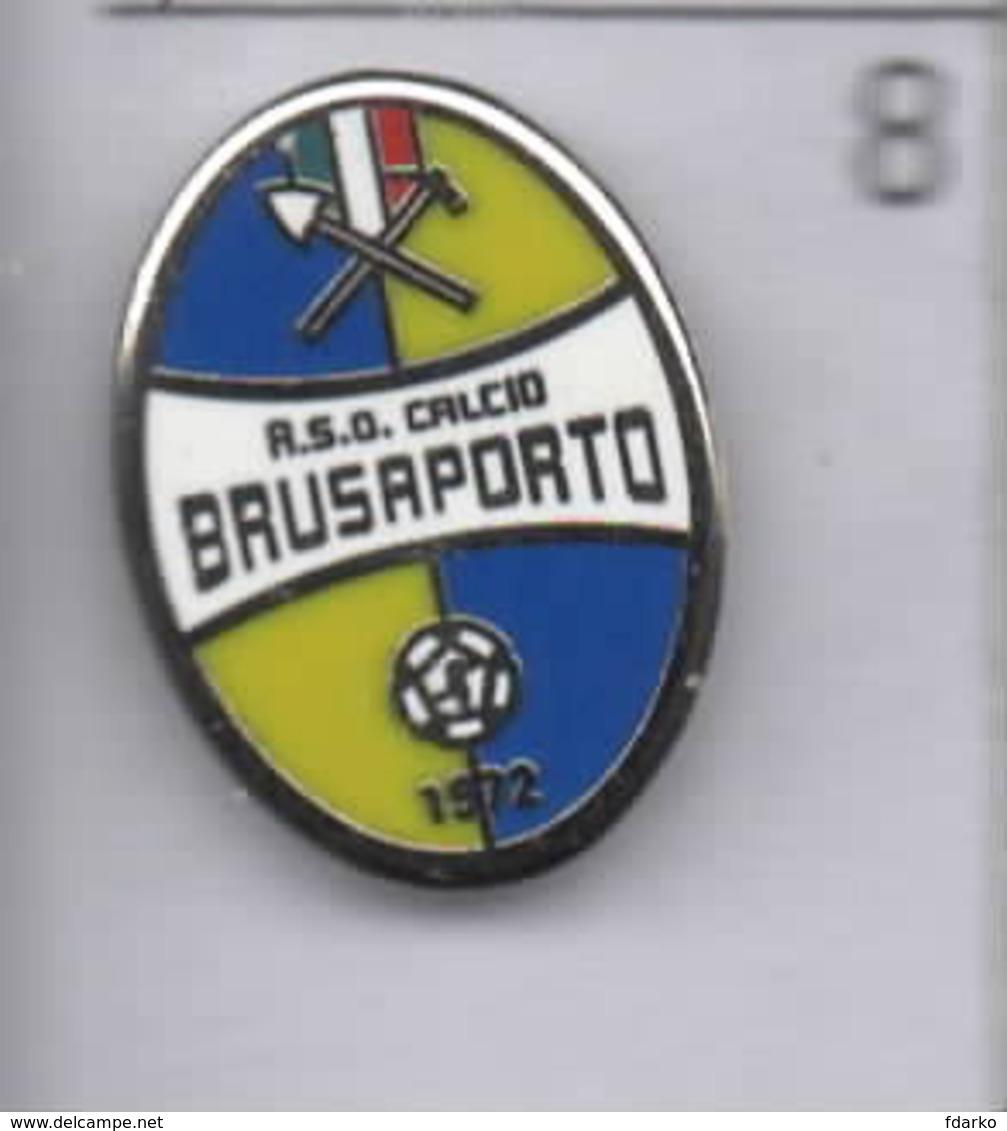 A.S.D. Brusaporto Calcio Distintivi FootBall Pins Bergamo Spilla Lombardia - Calcio