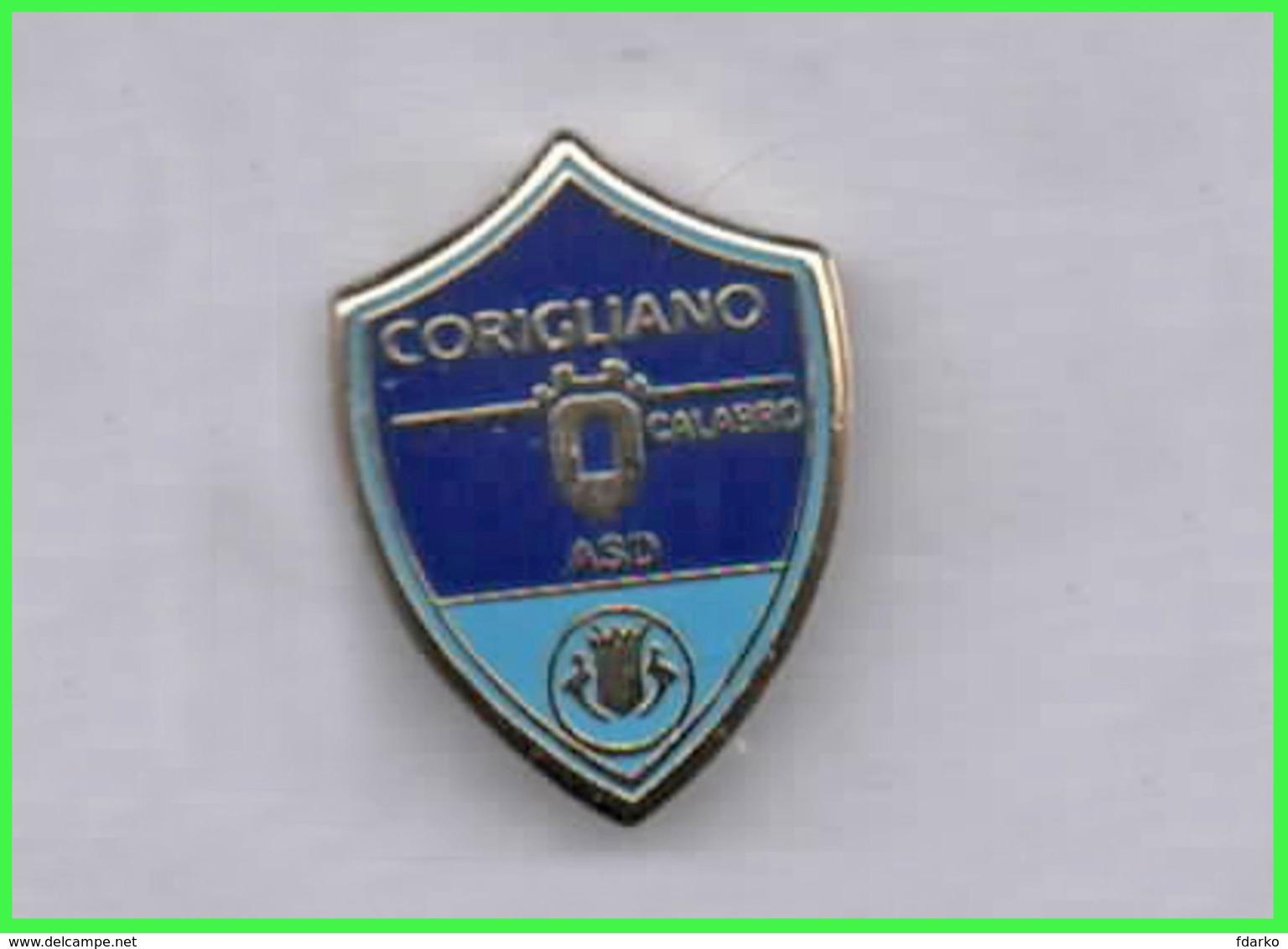 A.S.D. Corigliano Calcio Distintivi FootBall Pins Cesena Spilla - Calcio