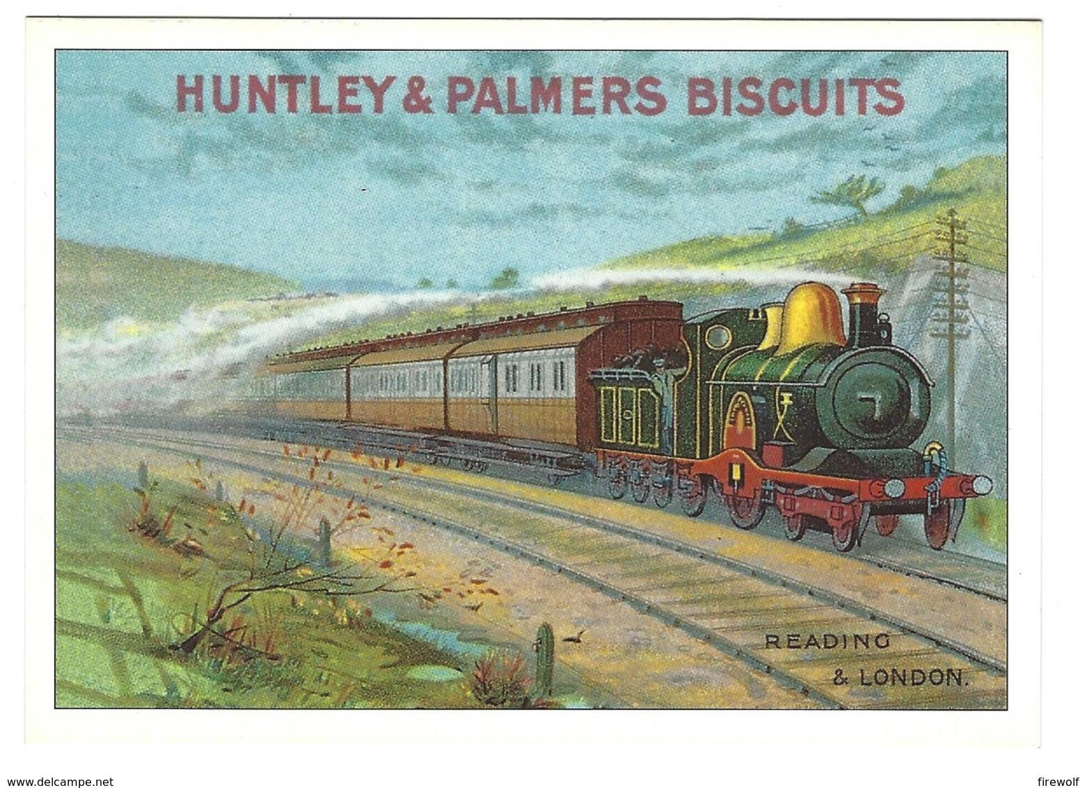Z05 - Huntley & Palmers Biscuits - Steam Train - Reading & London - Eisenbahnen
