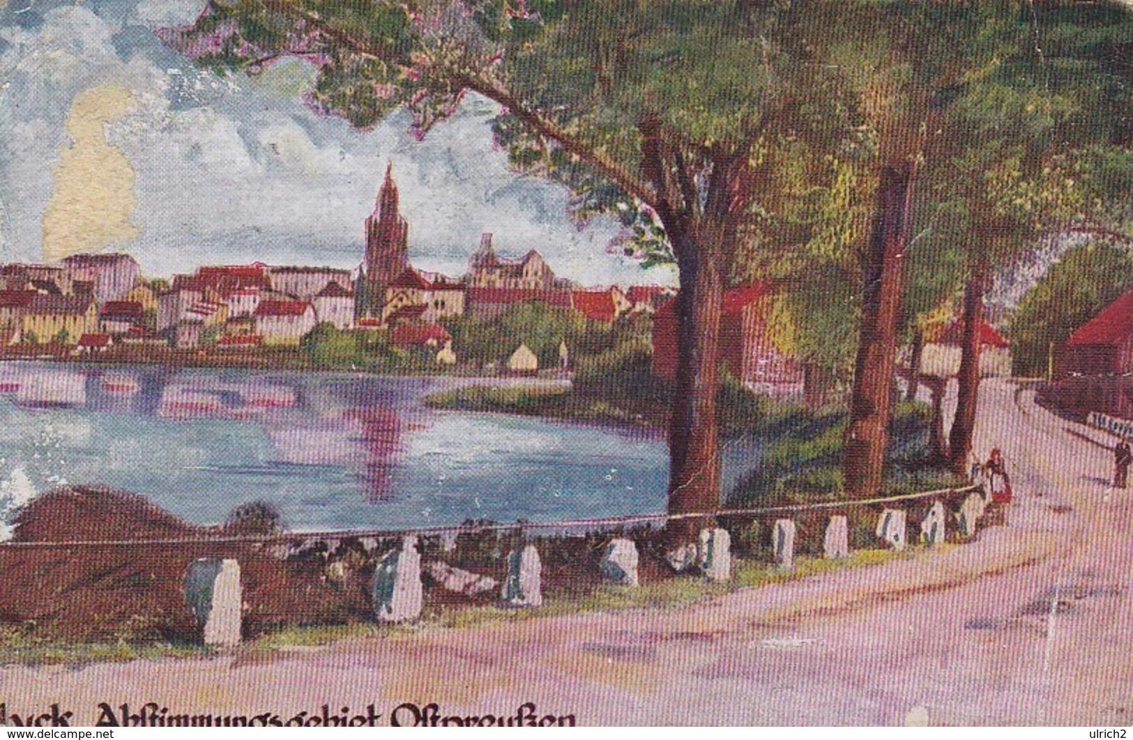 AK Lyck - Abstimmungsgebiet Ostpreußen - Ca. 1920 (43971) - Ostpreussen