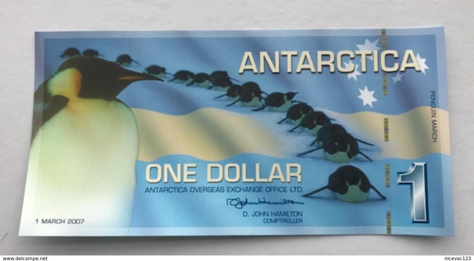 ANTARTICA P4  1 DOLLARS 03.2007 UNC - Bankbiljetten