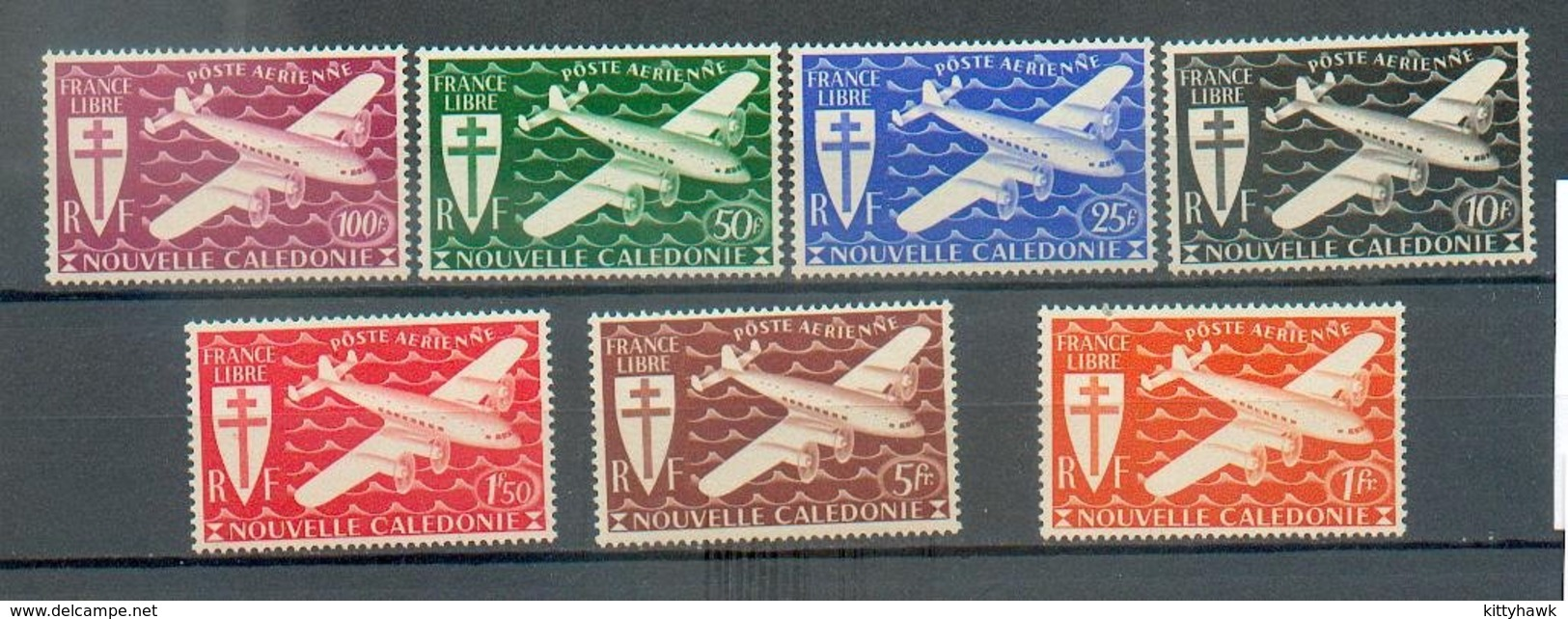 NCE 566 - YT PA 46 à 52 ** - Luftpost