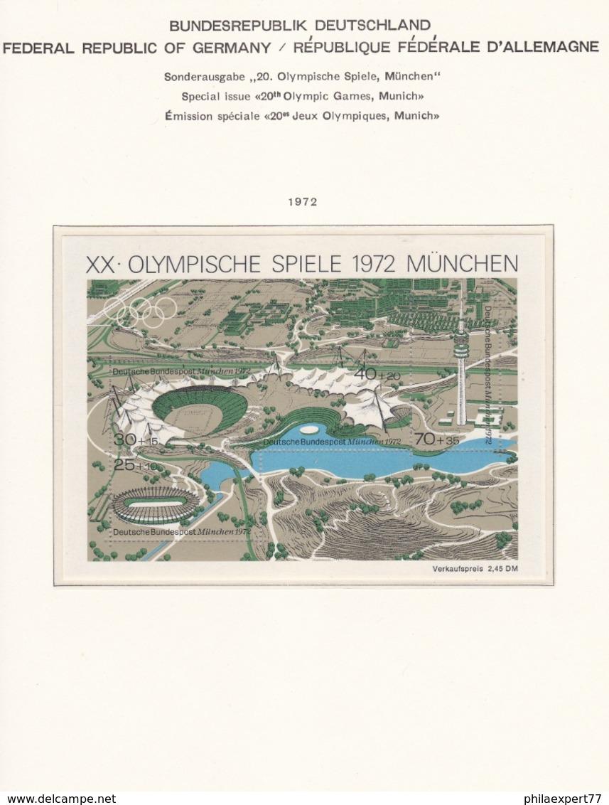 BRD - 1959/72 - Block Sammlung - Postfrisch - BRD
