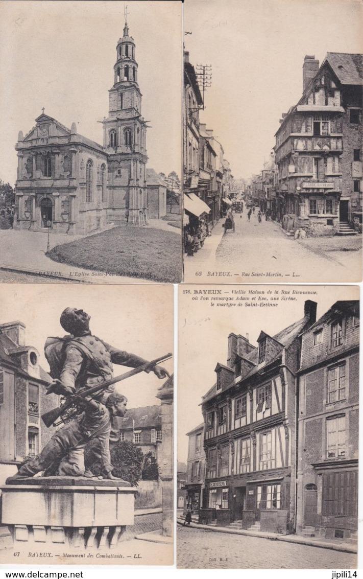 BAYEUX  LOT DE 5 CPA  TOUTES SCANNEES ACHAT IMMEDIAT - Bayeux