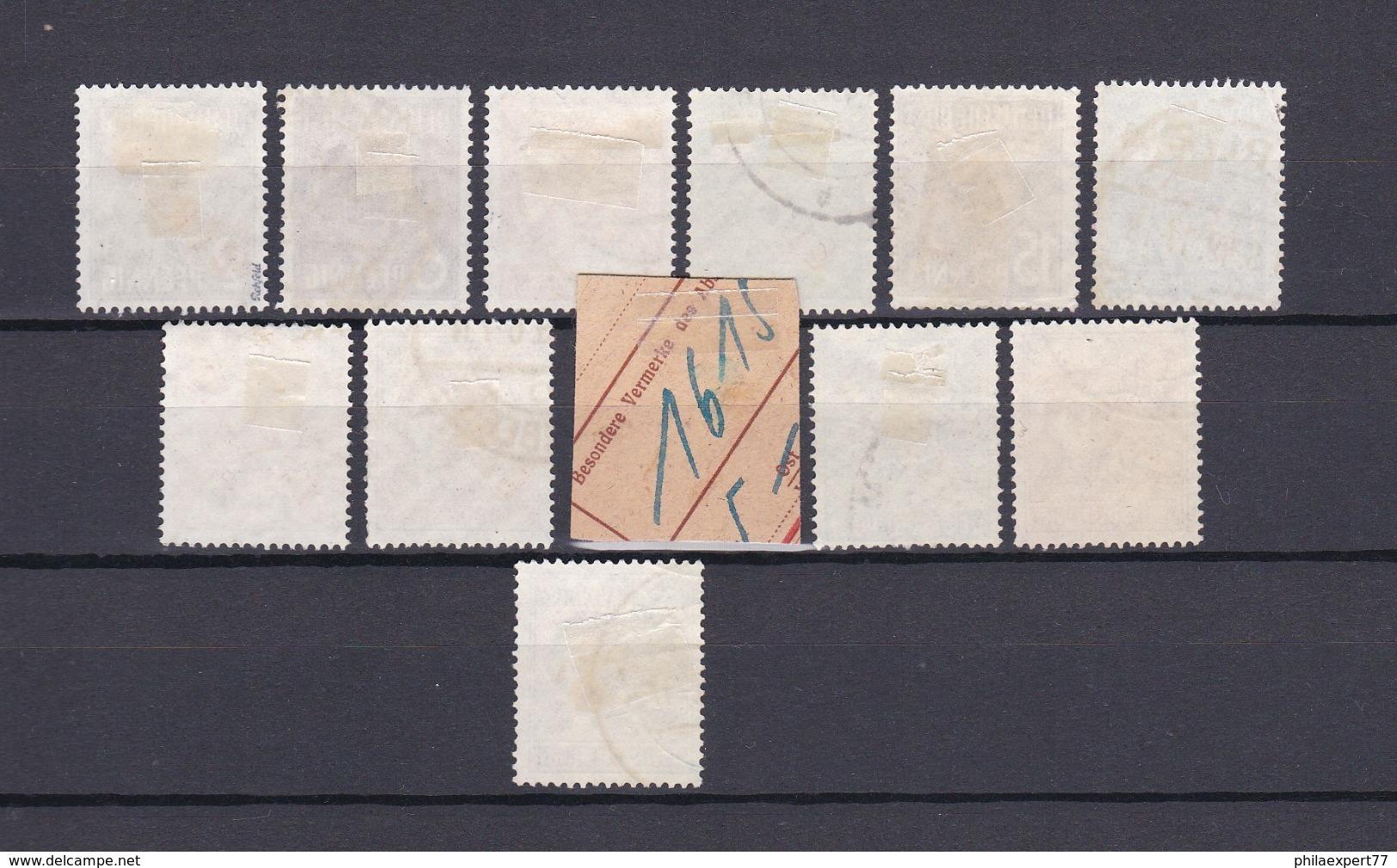 Berlin - 1949 - Michel Nr. 21/32 - Gest. - 70 Euro - Gebraucht