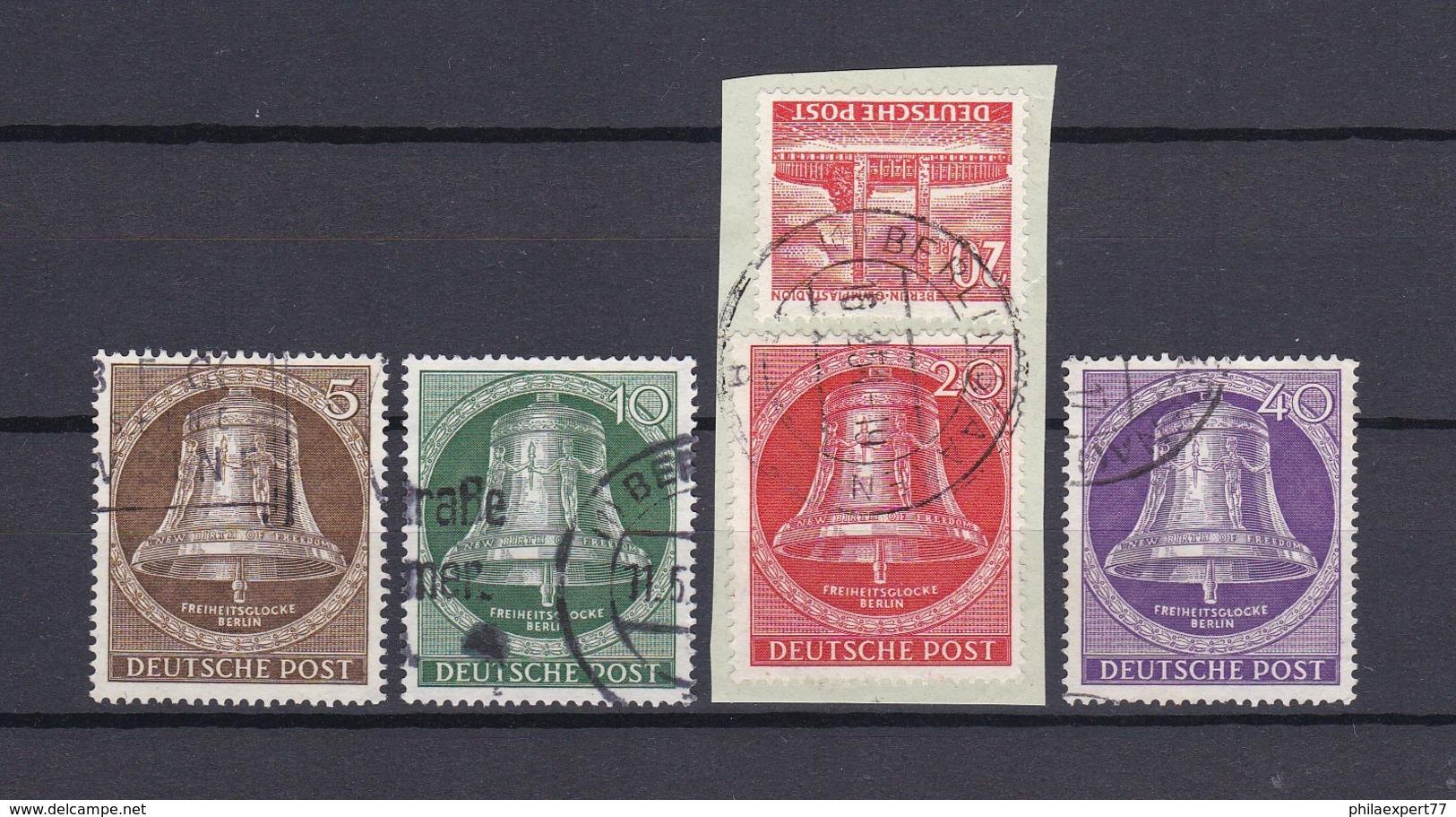 Berlin - 1953 - Michel Nr. 101/103+105 - Gest. - 38 Euro - Gebraucht