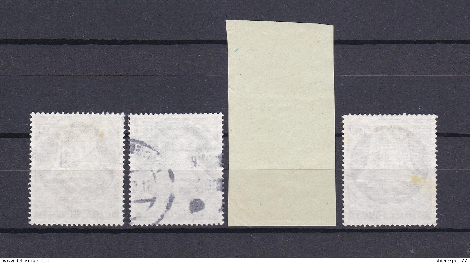 Berlin - 1953 - Michel Nr. 101/103+105 - Gest. - 38 Euro - Berlin (West)
