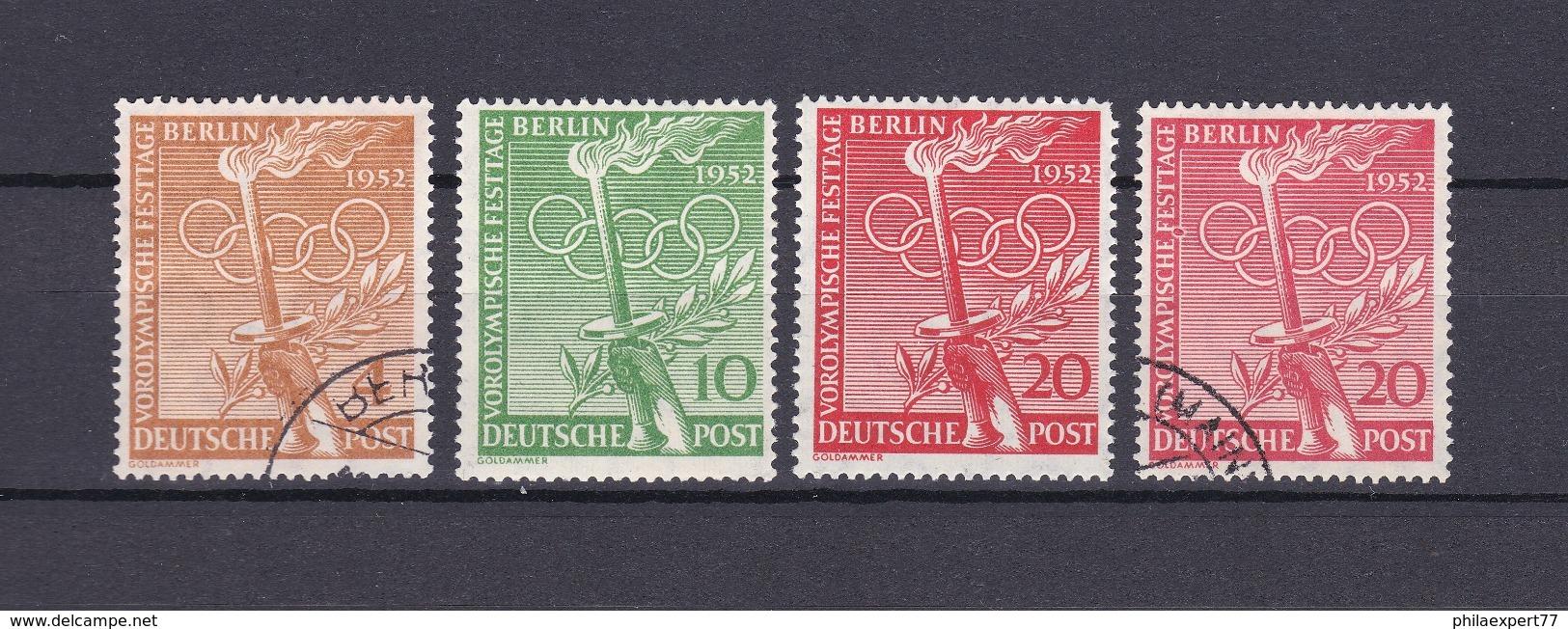 Berlin - 1952 - Michel Nr. 88/90 - Gest./Postfrisch - 58 Euro - Berlin (West)